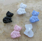 7 - Novelty Buttons - Animals #3 - Kitten - 15mm - Baby/ Dolls - Knitting/Sewing