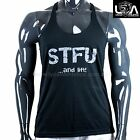 STFU and LIFT  Y-Back T-Back Racerback Stringer Tank Top Muscle Gym Singlet