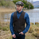 Tweed Vest - Brown - Made from Irish Wool, Imported from ...