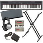 Yamaha P-115 Digital Piano - Black BONUS PAK