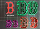Boston Red Sox Cookie Cutter / Fondant Cutter / Cupcake Topper