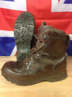 Genuine British Army Brown HAIX High Liability Combat Boots Used Gr 1 Many Sizes
