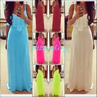 Beauty Women's Summer Bandage Lace Maxi Dress Cocktail Party Long Beach Dress