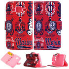 Sailor Club Luxury Wallet Card Leather Case Cover Fr SamSung LG HTC Sony Nokia Z