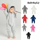 Babybugs Baby And Toddler all in one Hooded Romper/Bodysuit-(BZ25)-Comfortable