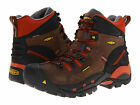 Keen Men's PITTSBURGH (SOFT TOE) WF leather Cascade Brown Shoes 1009709 (St.)
