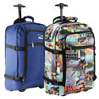 Wheeled Cabin Bag Hand Luggage Trolley Travel Lightweight Suitcase Flight Case