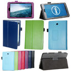 Premium Slim Leather Folio Stand Case Cover For Dell Venue 8 3830 Android Tablet