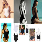 Women's Sexy One-piece Bikini Padded Backless Cut-out Swimwear Suit Monokini Ft