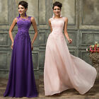 Purple Pink Long Formal Evening Ball Gown Party Prom Cocktail Bridesmaid Dresses