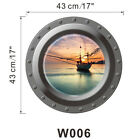 3D Underwater Submarine View Removable Home House Decal Art Sticker Decal New