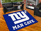 New York Giants Man Cave Area Rug 3 Sizes