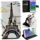 White Tower Luxury Wallet Card Leather Case Cover For Samsung Sony Alcatel LG YH