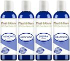 100%  PURE NATURAL CARRIER OILS COLD PRESSED 4 oz to 16 oz FREE SHIPPING