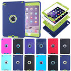 Rugged High Impact Shockproof Silicone PC Hard Case Cover For iPad mini Series