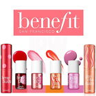 100% Authentic BENEFIT Cosmetics Tints for Lip Cheek & Face Highlighter Balms