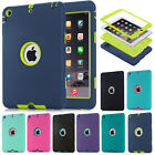 Summer Color Shockproof Heavy Duty Rubber Cover For Apple iPad Mini & iPad Air