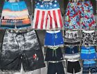 NWT Hollister By Abercrombie Classic Fit Swim Board Shorts At The Knee & Above