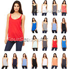 Bella + Canvas Ladies Slouchy Tank Top T Shirt Womens Tee S