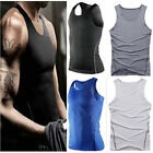 2015 Mens Body Compression Wear Base Layer Tank Top Vest Undershirt Tops Skin