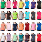 Next Level Ladies The Perfect T Shirt Womens Multi Color Tee