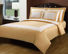 5pc Hotel Design Egyptian Cotton Duvet Cover Bedding Set ALL COLORS ALL SIZES