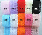 Wholesale!5 Yard Bilateral Handicrafts Embroidered Net Lace AUHO Trim Ribbon