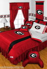 Georgia Bulldogs Comforter Sham and Valance Twin Full Queen King Size