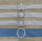 Ribbon Buckle Sliders - different Designs - Wedding Invitations - Cards - Gifts