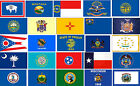 New 3ft x 5ft Polyester United State Flags Montana,  Texas to Wyoming