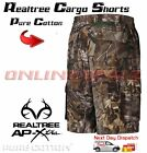 Realtree Camo Hunting Tee Shirt + Cargo Shorts Camouflage Archery Army CLOTHING