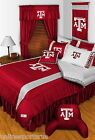 Texas A&M Aggies Comforter Bedskirt Sham Twin Full Queen King Size