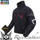 RUKKA ARMAXIS GORETEX WATERPROOF MOTORCYCLE MOTORBIKE TOURING JACKET BLACK