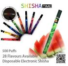 1x SHISHA  15 Flavor 500 Puffs  E Hookah Disposable Vaporizers For Fun Smoking