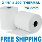 "CLOVER STATION 3-1/8"" x 220' THERMAL RECEIPT PAPER - 9 NEW ROLLS *FREE SHIPPING"