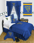 West Virginia Mountaineers Comforter Sham Pillowcase Twin Full Queen Size