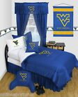 West Virginia Mountaineers Bed in a Bag Twin Full Queen Size