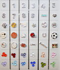 Floating charms for glass locket  sports! Create memory, football mom, cheer mom