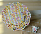 "50pcs Colorful 5.5""Inch Flower Paper Lace Doilies, Craft Doyley, Wedding Cards"