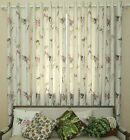 Custom French Country Provincial  Floral Cotton Linen Window Curtain H051