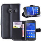 For Galaxy Ace Style G310 Fashion Flip Magnetic Stand Cover Case Card Holder