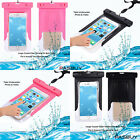 IPX8 Certification Universal Waterproof Pouch for SmartPhone under 5.5 - 6 inch