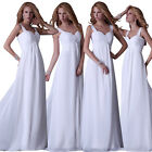 PLUS SIZE Long Evening Gown Bridesmaids Prom Wedding Party Homecoming Dress Maxi
