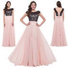 2015 Long Wedding Evening Prom Bridesmaid Dress Formal Ball Gown PLUS SIZE 18 20