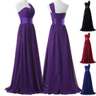 Long Bridesmaid Formal Evening Party Wedding Ball Gown Prom Dress Plus Size 6+20