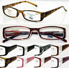 L147 Unisex Reading Glasses/Classic Style Design & Spring Hinges+125+150+175+200