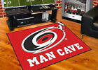 Carolina Hurricanes Man Cave Area Rug Choose from 4 Sizes