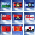 LARGE 5FT X 3FT MILITARY FLAG BRITISH ARMY RAF REGIMENT MARINES PARA