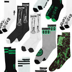 CREATURE - Skateboard Socks - Assorted styles - White, Green, Black