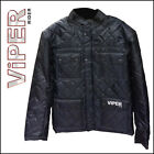 Viper Austin Nylon Casual Jacket CE Armour Motorbike Motorcycle Waterproof